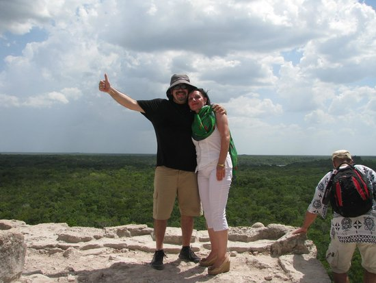 Coba Ruins: On the top