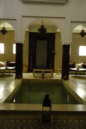 Riad Alnadine : Foyer