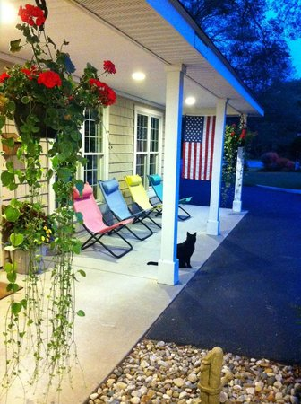 Captains Quarters Motel: It's easy to relax at the Captain's Quarters