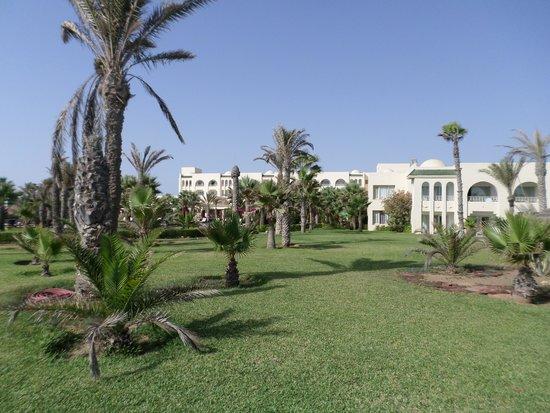 Hasdrubal Thalassa & Spa Djerba: Vue de l'hotel