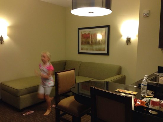Ramada Plaza Resort and Suites Orlando International Drive: My suit floor 9! 17/08/2014