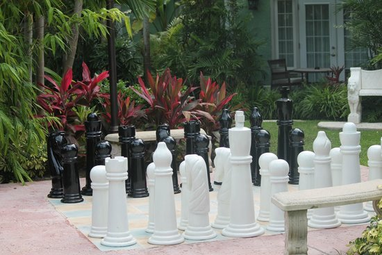 Sandals Royal Bahamian Spa Resort & Offshore Island : chess