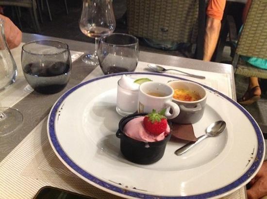 Le Marlin : caffe' gourmand