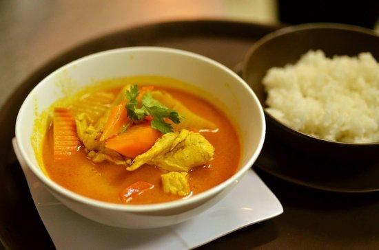 Chocolate Restaurant: Chicken curry
