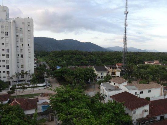 Guaruja Flat Hotel: Vista do apartamento