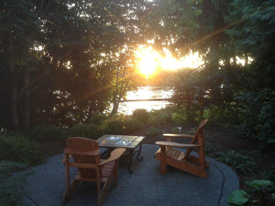 Dockside Bed & Breakfast: Your own private terrace