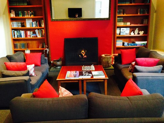 The Ansonia on Lydiard: Ansonia Lounge & Library