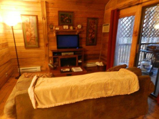 Getaway Cabins : Living Room