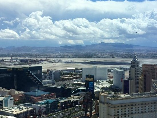 ARIA Sky Suites: View from the room day!