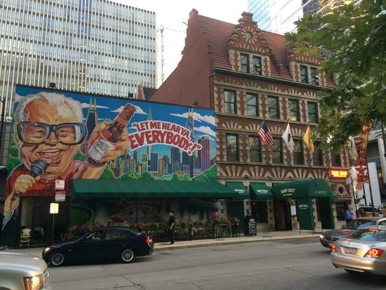 Harry Caray's Italian Steakhouse River North : front of the restaurant