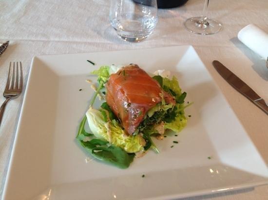 La Gruta: tartare di salmone