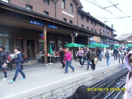 Jungfrau: kleine scheidegg raik station