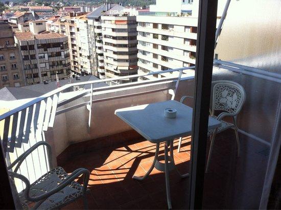 Gran Hotel San Martin: La terraza