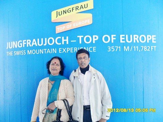 Jungfrau: top of Europe