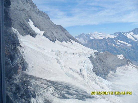 Jungfrau: at the top