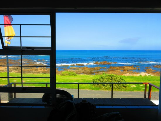 Dyer Island Seafront Accommodation : oceanview from room