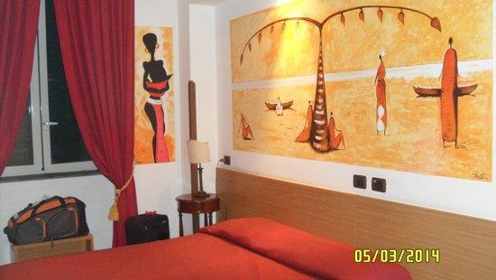 Grand Hotel Europa : Detalles de habitación