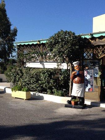 Karterádhos, กรีซ: Taverna Kira Niki