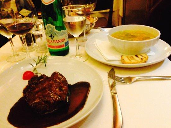 Il Coriandolo : Filet Mignon and Vegetable Soup