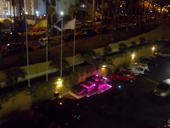 Iberostar Las Dalias: Вид из номера ночью