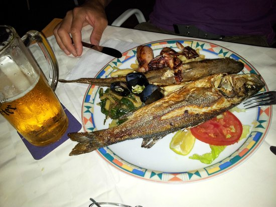 Danica: Fischplatte für 1 Person