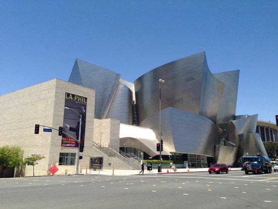 Walt Disney Concert Hall: Vista de WD concert hall