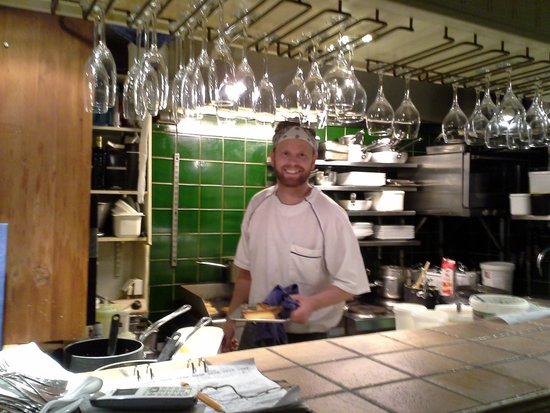 Restaurang Kryp In: Daniel chef y hombre orquesta