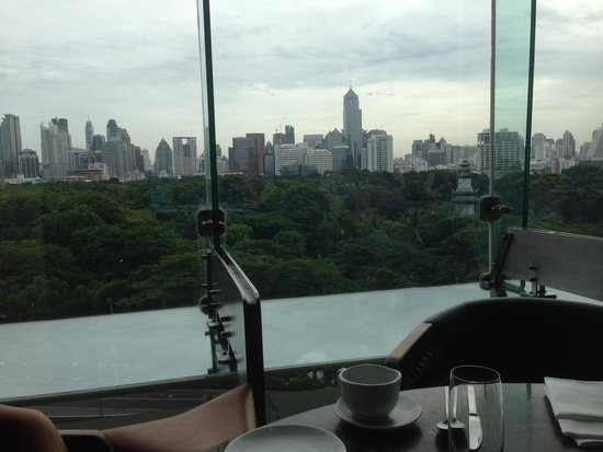 SO Sofitel Bangkok: View from the breakfast room