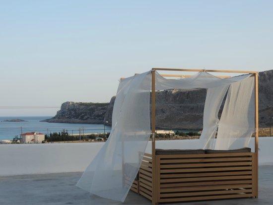 Lindos Sun Hotel: terrasse