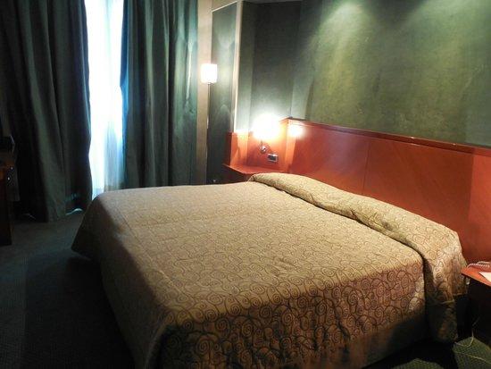 Perugia Park Hotel : camera da letto