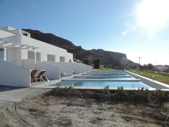 Lindos Sun Hotel : piscines privées