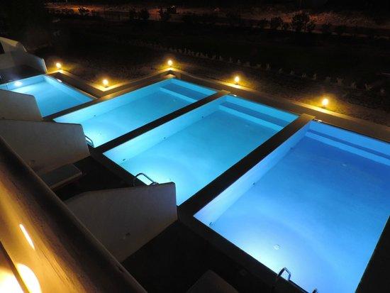 Lindos Sun Hotel: piscines privées nuits