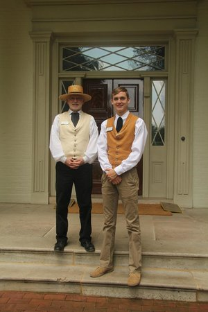 Andrew Jackson's Hermitage: Docents at house