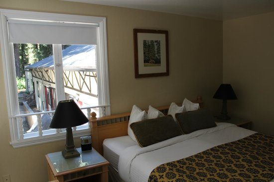 Rio Nido Lodge at the Russian River: Chambre Deluxe King