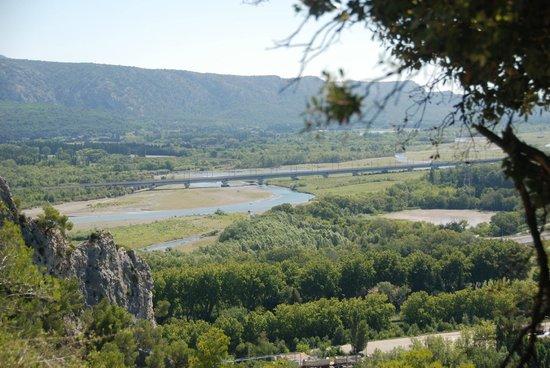 Camping la Vallee Heureuse: Vue de Notre Dame du Beauregard