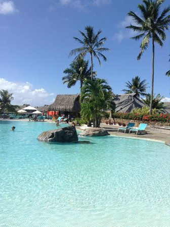 Hilton Moorea Lagoon Resort & Spa : Piscine