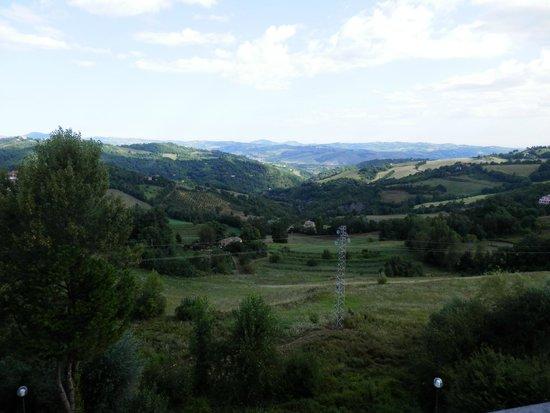 Mamiani Hotel Urbino : panorama