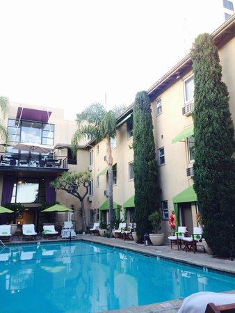 Grafton on Sunset: Rocking by the Pool