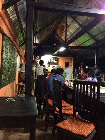 Angkor Secret Garden Hotel: Nachtleben im Hotel