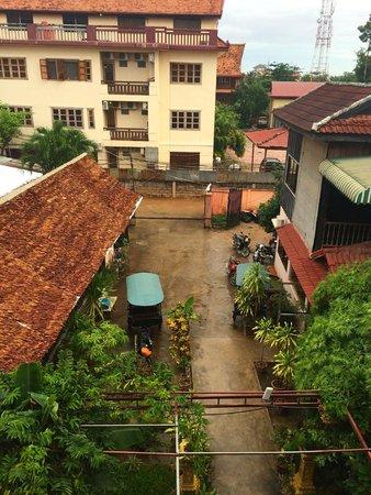 Angkor Secret Garden Hotel: Aussicht