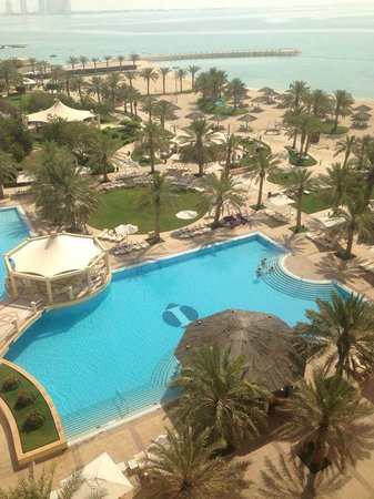 InterContinental Doha: View from Bedroom