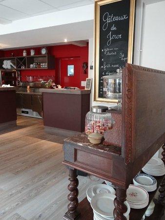Restaurant Le Temps qu'il faut...: Salle du restaurant