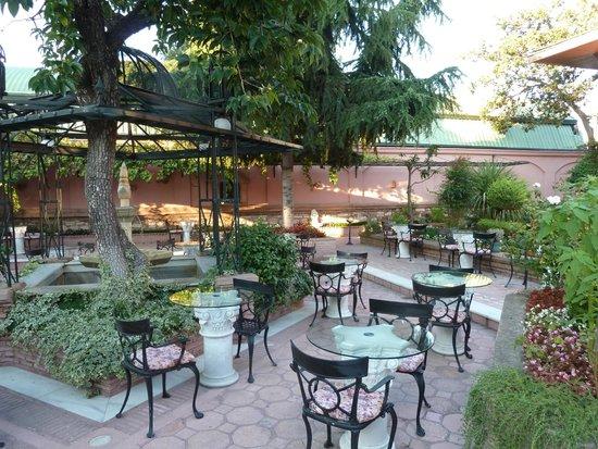 Sultanahmet Palace Hotel : Garten