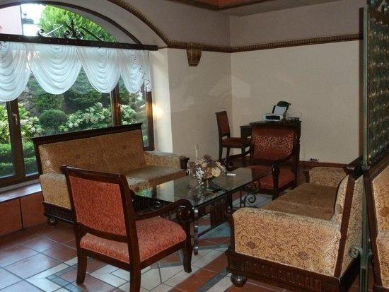 Sultanahmet Palace Hotel : Sitzecke Lobby