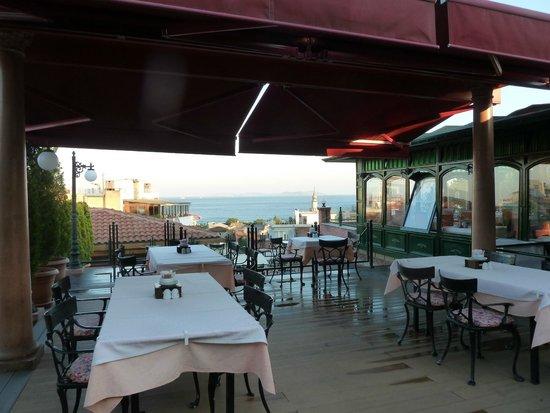 Sultanahmet Palace Hotel : Terrasse Sultan Ahmet Restaurant