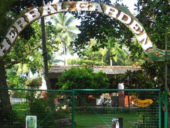 Bentota, Sri Lanka: Main entrance