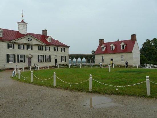 George Washington's Mount Vernon: Mount Vernon avec vue sur le Potomac