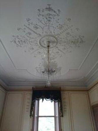Desssert  Cafe Chourakukan : 憧れ・・貴婦人の部屋の天井