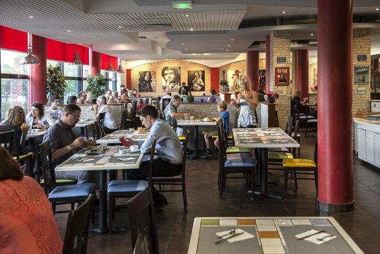 Inter Hôtel Altéora site du Futuroscope : Restaurant Le Bistro