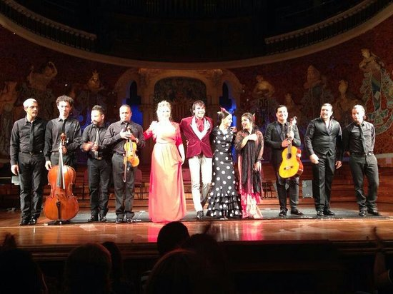 Palau de la Musica Orfeo Catala: Meravigliosi